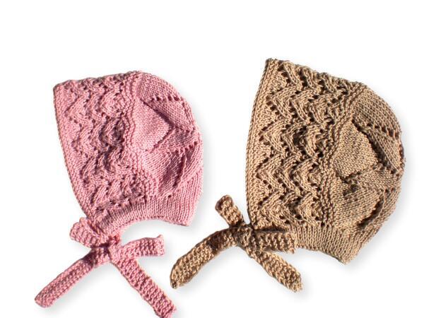 4e30e8a81e436 Baby Bonnet Hat - 2 Sizes - Knitting pattern