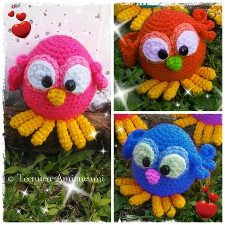Crochet Clown Fish and Blue Tang (Nemo and Dory) – 15 free ... | 450x450