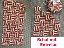 Schal Entrelac-Style mit Woolly Hugs PLAN