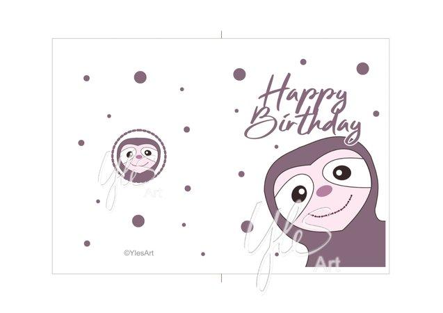 Geburtstagskarte drucken 13