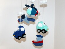 Vehicle Mobile crochet pattern