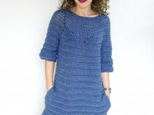 Delighted Sweater-Dress