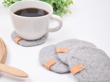 Felted Coffee Coaster