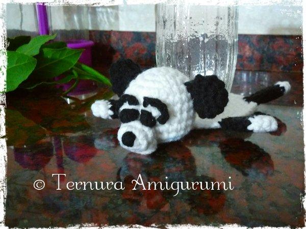 Panda Bear (English), PDF crochet bear pattern, cute crochet panda ... | 450x600