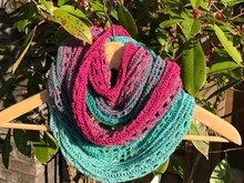 Little Paths of Love - Infinity Scarf / Loop