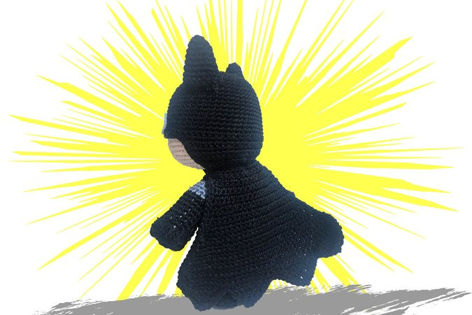Batman Pattern Amigurumi PDF Deutsch - English