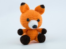 Little Fox Crochet Toy
