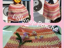 Lollypop Poncho