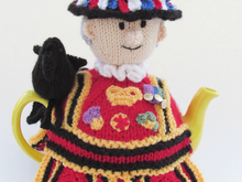 Beefeater Tea Cosy Knitting Pattern