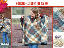 PONCHO COLOURS OF KARO