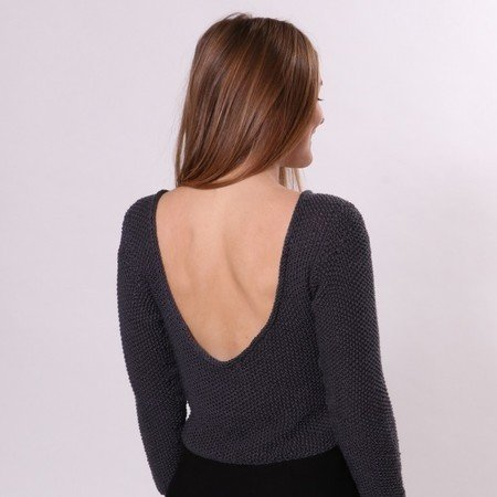Deep Back with Sleeves