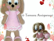 haakpatroon hond lulu + Haakpatroon Lulu puppy hondje 2PDF! ternura amigurumi english- deutsch- dutch-