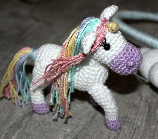 unicorn mobile crochet pattern