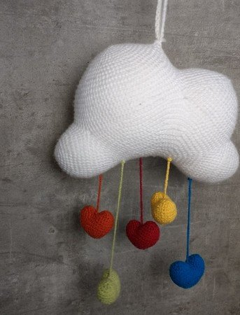 "Wolken-Mobile ""It's raining Love"""