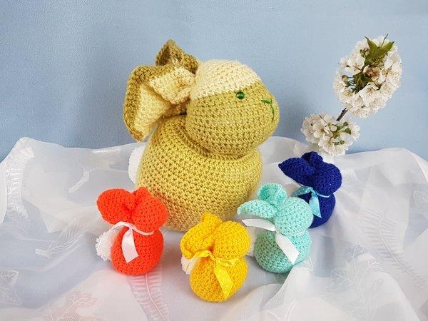 Luty Artes Crochet: Quadros de amigurumi para quarto infantil ... | 450x600