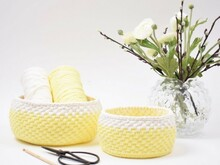 Ribbon Easterbaskets