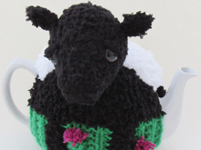 Beltie Tea Cosy Knitting Pattern