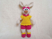 Honey Bunny Lotti - Häkelanleitung / Amigurumi (deutsch)