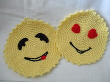 """ Smiley "" Topflappen"