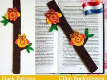 047NLY Boekenlegger UIl of decoratie - Amigurumi Haak patroon - PDF file by Zabelina CP