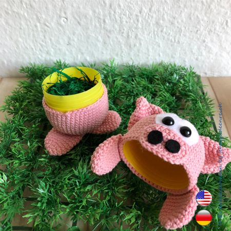 Mama Kangaroo Amigurumi Crochet Pattern | 450x450