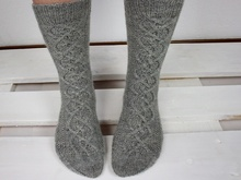 "Knitting pattern Socks ""Helix"""