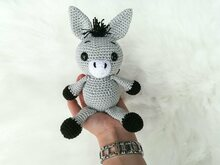 Emil the Donkey - Crochet Pattern
