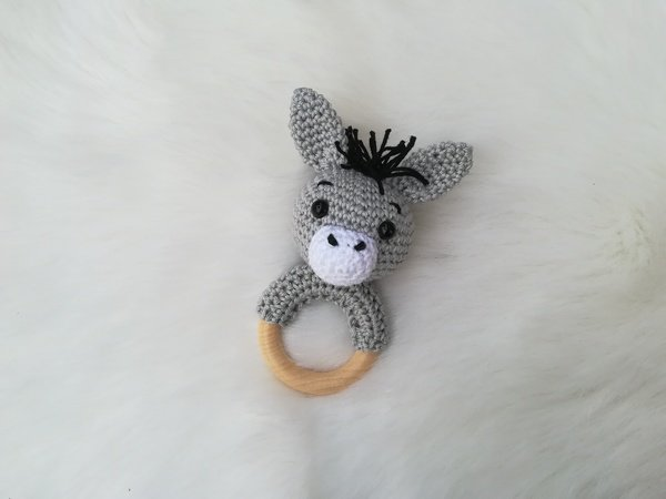 Donkey Rattle - Crochet Pattern