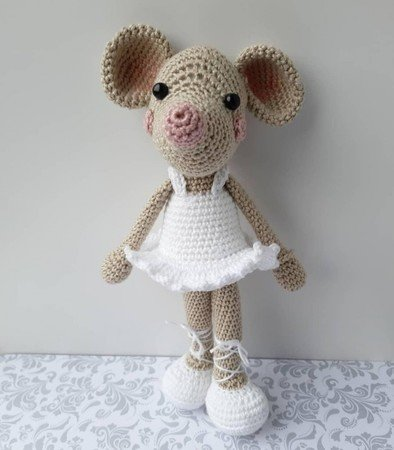 Owlishly: Brisa the ballerina amigurumi pattern available & a ... | 450x394