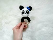 Panda Rattle - Crochet Pattern