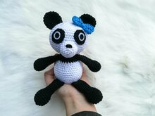 Paula the Panda - Crochet Pattern