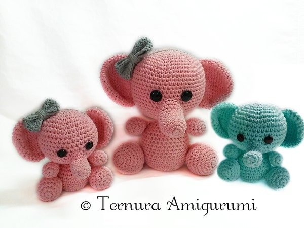 The Sweetest Crochet Elephant Patterns To Try | The WHOot | 450x600