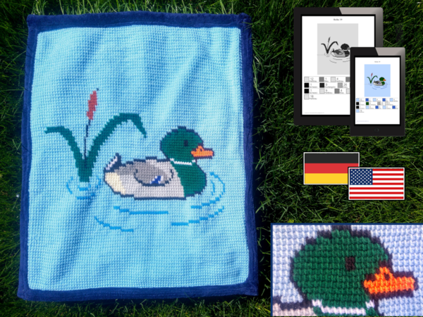 Childrens Blanket - Male Duck