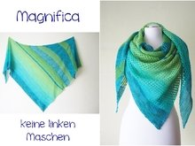 Summer shawl Magnifica - no purl - beginner
