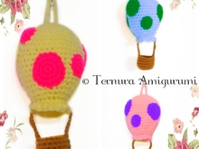 Haakpatroon heteluchtballon pdf ternura amigurumi english- deutsch- dutch