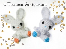 crochet pattern of little bunny pdf ternura amigurumi english- deutsch- dutch