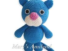 Thomas Cat the Ami - Amigurumi Crochet Pattern