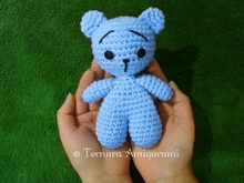 crochet pattern of little bear pdf ternura amigurumi english- deutsch- dutch