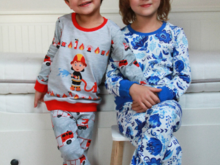 Kids Pyjamas Sewing Pattern - All Sizes 80 - 164 Bundle