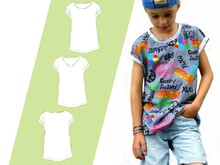 Schnittmuster Ebook Kindershirt Kids Summer Boy