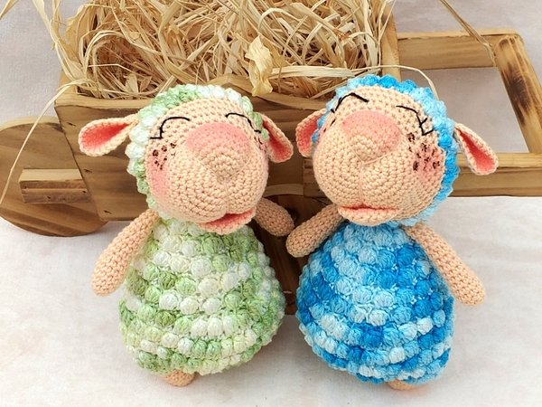 "Crochet Pattern ""Lennard"" The Chubby Sheep"