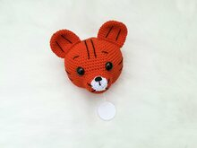Tiger Music Box - Crochet Pattern