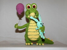 carol the crocodile crochet pattern