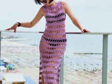 Crochet Pattern Sunny Days Beach Dress