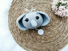 Elephant Music Box - Crochet Pattern
