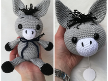 Donkey Music Box + Donkey Emil - Crochet Pattern