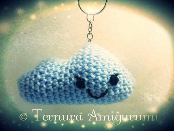 Plush Amigurumi Chicken Keychain Crochet Perfect gift | Etsy | 450x600