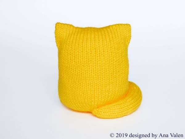 Cat Citrus Knitting pattern