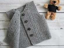 Knit baby vest Toddler waistcoat