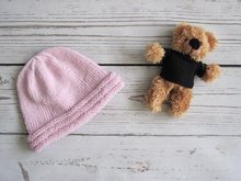 Baby Beanie knitting pattern